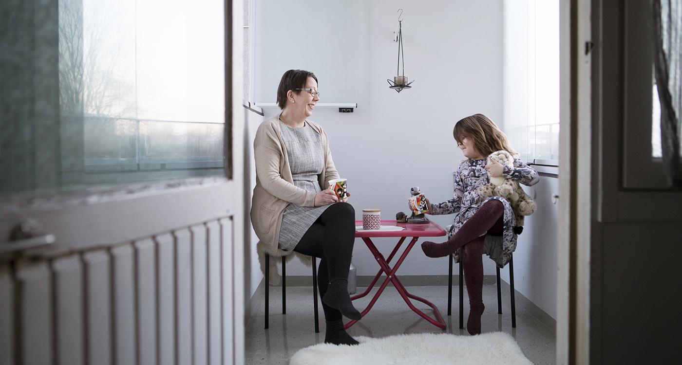 Lumo-Marianna Mäkelän Lumo-koti Turussa.