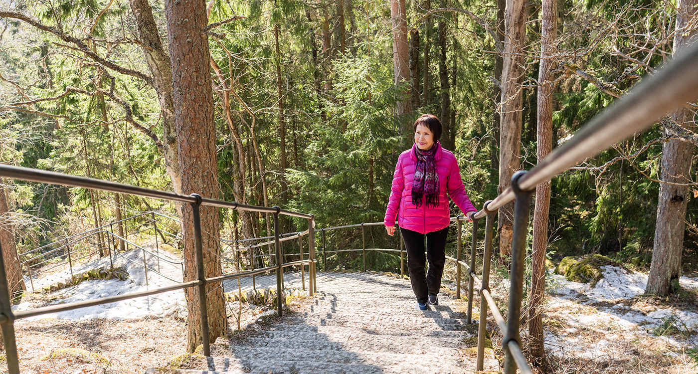 Hämeenlinnan puistot houkuttelevat retkille